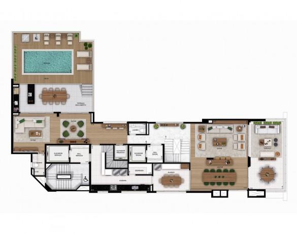 Itahy - Planta Duplex Superior