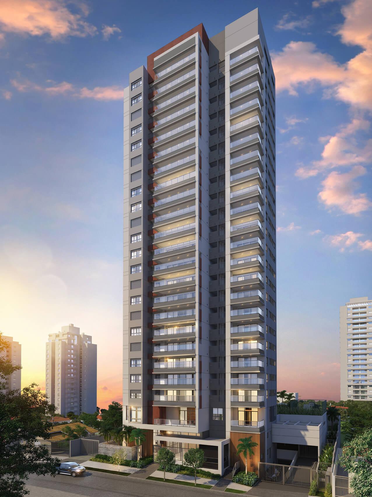 Contemp Vila Mariana Apartamentos – 104 m²