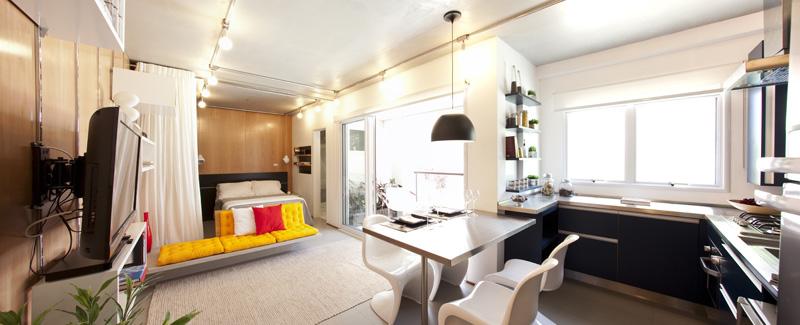 OPTION PARAÍSO Studio- 38,61 m²